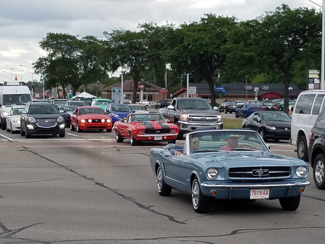 Woodward Dream Cruisin' - Blog - Dotten Collision, Inc. - 20170818_181458